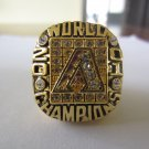 2001 Arizona Diamondbacks MLB Baseball World series Championship ring replica size 11 US