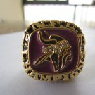 1973 Minnesota Vikings NFC super bowl championship ring replica size 11 US