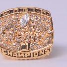 NFL 1999 St. Louis Rams Super bowl  XXXIV CHAMPIONSHIP RING 11S  player FAULK