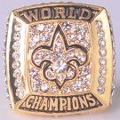 NFL 2009 New Orleans Saints Super bowl  XLIV CHAMPIONSHIP RING MVP Player Drew Brees 11S NIB