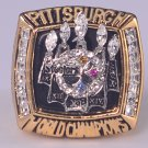 NFL 2005 Pittsburgh Steelers Super bowl XL CHAMPIONSHIP RING MVP Player Hines Ward 11S Solid