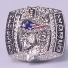 NFL 2003 New England Parriots Super bowl XXXVIII CHAMPIONSHIP RING  Player Kraft