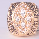 NFL 1989 San Francisco 49ers Super bowl  XXIV CHAMPIONSHIP RING  MVP Player Montana 11S NIB