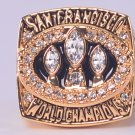 NFL1988 San Francisco 49ers Super bowl  XXIII CHAMPIONSHIP RING Player Montana 11S NIB
