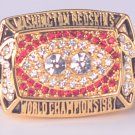 NFL 1987 Washington Redskins Super bowl XXII CHAMPIONSHIP RING  MVP Player Williams11S NIB