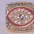 NFL 1982 Washington Redskins Super bowl XVII CHAMPIONSHIP RING MVP Player Riggins 11S NIB