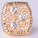 NFL 1978 Pittsburgh Steelers Super bowl XIII CHAMPIONSHIP RING MVP Terry Bradshaw 11S NIB