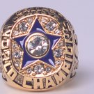 NFL 1971 DALLAS COWBOYS Super bowl VI CHAMPIONSHIP RING MVP Staubach 11S Solid Back