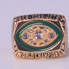 NFL 1968 New York Jets Super bowl III CHAMPIONSHIP RING  MVP Player Namath 11S NIB