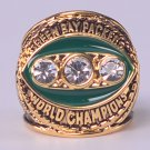 NFL 1967 Green Bay Packers Super bowl II CHAMPIONSHIP RING Player MVP Bart Starr  11S