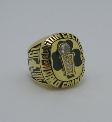 1986 Boston Celtics NBA Basketball Championship ring replica size 9-12 US