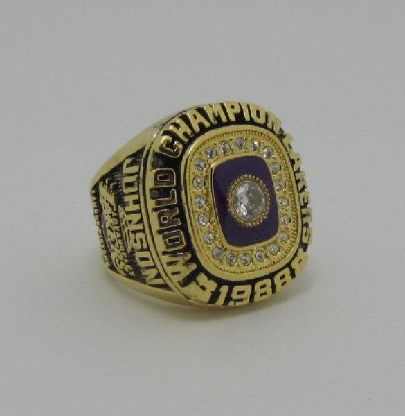 1988 Los Angeles lakers NBA Basketball Championship ring replica size 9-12 US