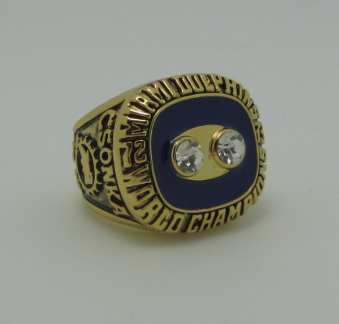 NFL 1973 Miami Dolphins super bowl ring replica size 11 US