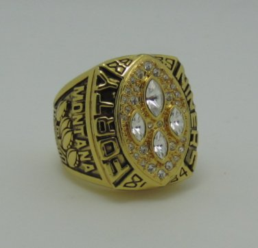 NFL 1989 San Francisco 49ers super bowl ring replica size 11 US