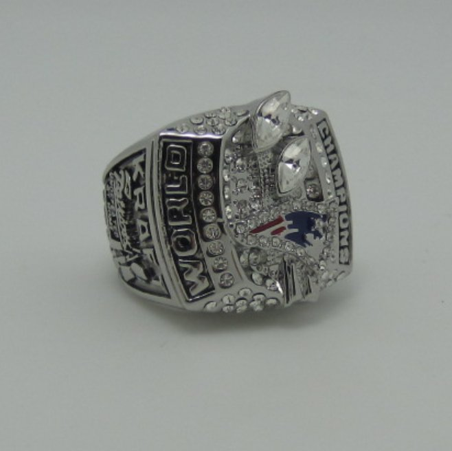 Promotion sale NFL 2003 New England Patriots super bowl ring replica size 11 US