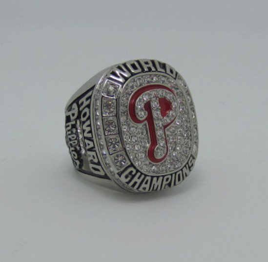 2008 Philadelphia Phillies MLB world series ring replica size 11 US
