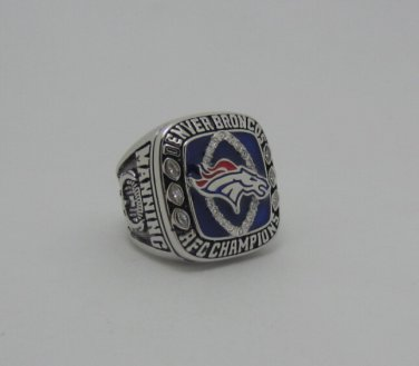 2013 AFC Denver Bronco championship ring size 12 US high quality in stock