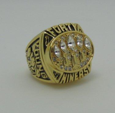 NFL1994 San Francisco 49ers Super bowl CHAMPIONSHIP RING Player YOUNG 11S NIB Solid back