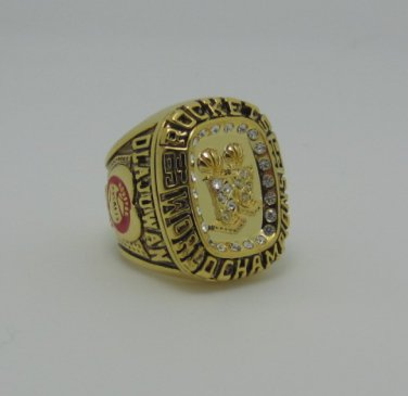 NBA 1995 Houston Rockets Championship ring replica size 10 US