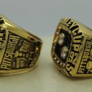 1 Set (2pcs)1991 1992 PITTSBURGH PENGUINS NHL Stanley Cup Championship Rings 12S