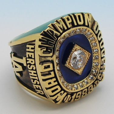 MLB 1988 Los Angeles Dodgers world series championship ring 12S