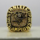 1991 PITTSBURGH PENGUINS NHL Stanley Cup Championship Rings 10S