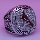 2011 St. Louis Cardinals Baseball MLB world series Championship ring cooper ring size 12