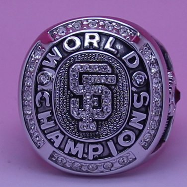 MLB 2010 San Francisco Giants Baseball  world series Championship ring cooper ring size 10