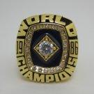 1986 New York Mets Baseball  MLB world series Championship ring cooper ring size 12