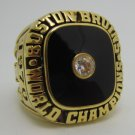 1970 Boston Bruins NHL Hockey Stanely cup Championship ring replica size 12 US Copper solid ring