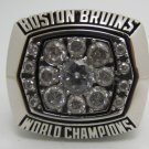 1972 Boston Bruins NHL Hockey Stanely cup Championship ring replica size 11 US Copper solid ring
