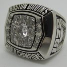 1972 Boston Bruins NHL Hockey Stanely cup Championship ring replica size 12 US Copper solid ring
