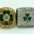 2PCS 1984 2008 Boston Celtics NBA CHAMPIONSHIP RING  10S
