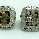 2PCS 2012 2013 Miami Heat NBA Basketball Championship ring replica size 10 US James