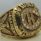 1986 Montreal Canadiens NHL Hockey stanely cup Championship ring 9-13 size to choose