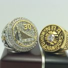 One Set 2 pcs 1975 2015 Golden State Warriors NBA Basketball championship ring 8-14S choose