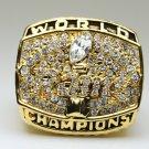 1999 St. Louis Rams Super bowl  XXXIV CHAMPIONSHIP RING 11S  player FAULK