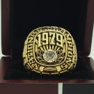 1979 Alabama Crimson SEC National Championship ring replica size 11 US
