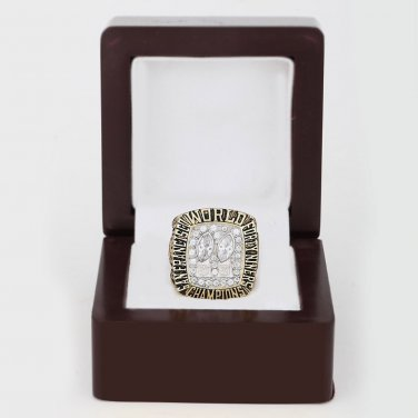 1984 Super bowl CHAMPIONSHIP RING San Francisco 49ers 10-13 size with wooden case