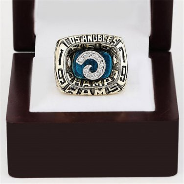 1979 LOS ANGELES RAMS NFC CHAMPIONSHIP RING 10-13 size with wooden case