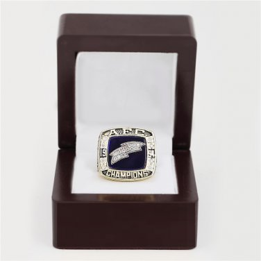 1994 San Diego Chargers AFC CHAMPIONSHIP RING 10-13 size with wooden case