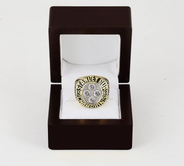 1983 New York Islanders NHL CHAMPIONSHIP RING 10-13 size +wooden case