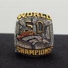 NFL Miller ring 2015 2016 Denver Broncos super bowl  Rings 8 Size copper solid back