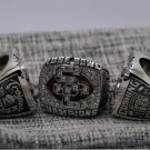 National Championship Ring USC 2007 University of Southern California Rose Bowl 8-14S