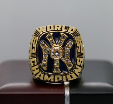 1996 New York Yankees MLB World Series ring 8-14S for Jeter