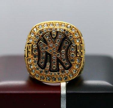 1999 New York Yankees MLB World Series ring 8-14S for Jeter