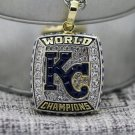 2015 Kasas City Royals world series championship Necklace with steel Chain