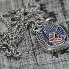 2013 Boston Red Sox world series championship Necklace with steel Chain