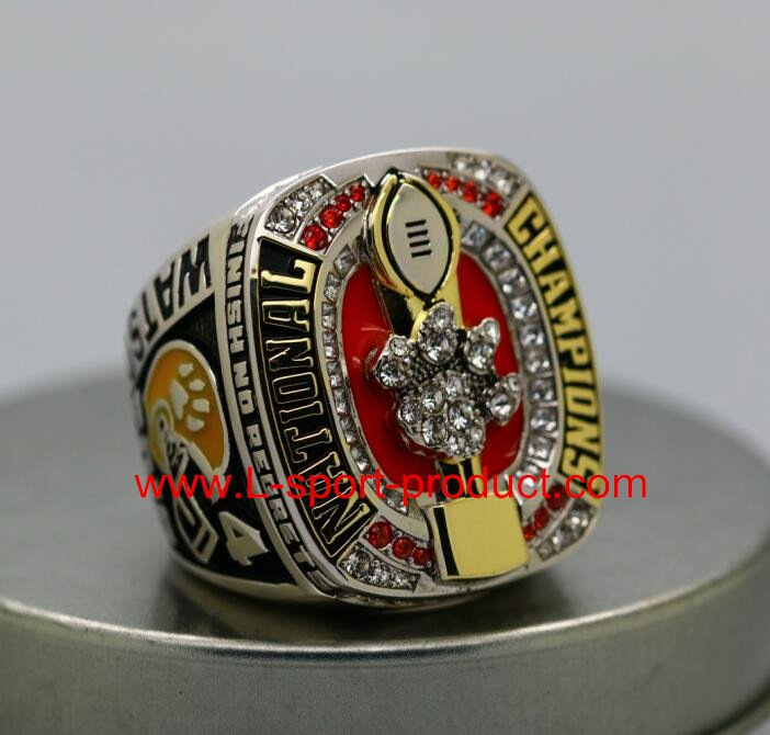 National Championship Ring 2016 2017 Clemson tigers NCAA 9S for WATSON