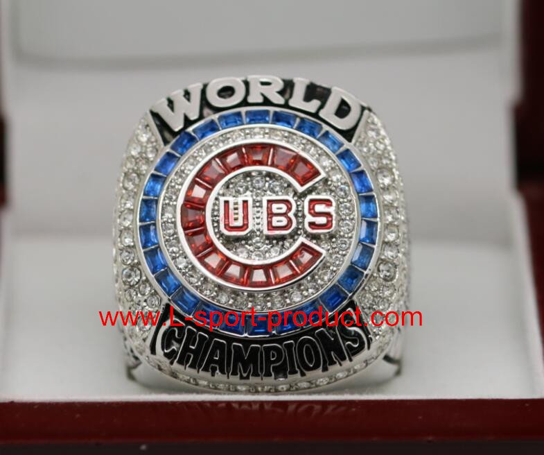 For MVP ZOBRIST 2016 Chicago Cubs MLB world seire Championship Ring 8-14 Size